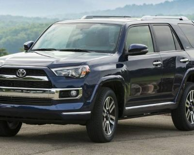 2018 Toyota 4Runner Limited