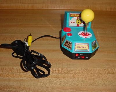 Namco The Original Ms PAC-MAN Arcade Classics Collection 5 Video Plug & Play TV Games. Power Up Some Classic 80s Arcade Games With This...
