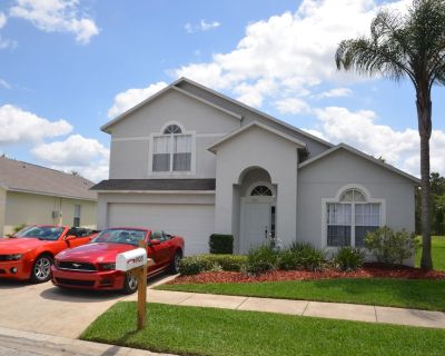 Spacious and Family Friendly 4br/3.5ba Villa - Lakeside - 2 Masters With Jacuzzi - Clear Creek