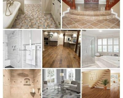 Flooring and custom baths