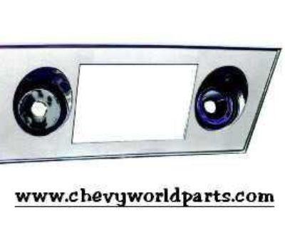 66 67 Nova Chevy Ii Radio Face Plate New!!! 1966 1967