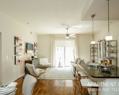 Resort style swimming pool - pet friendly apartments in Downtown Houston