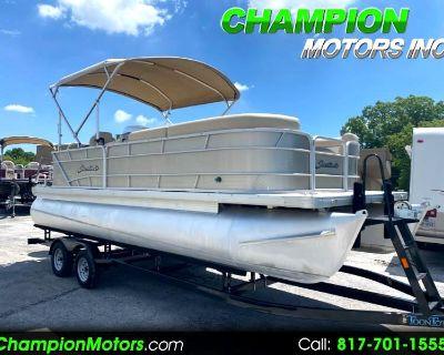 Used 2015 Sweetwater 2286 C3 22 Pontoon Boat Yamaha 115HP 4 Stroke