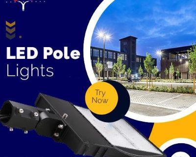 Buy LED Pole Lights For Parking Lot Lights