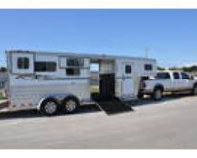 2016 4 Star 2+1 Runabout 2 Horse Straight Load Gooseneck Horse Trailer
