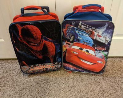 Carry-On Size Kids Roller Luggage