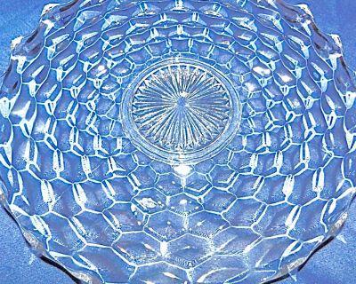 Fostoria American 20 in. - RARE! Crystal Forte Plate * Circa 1932
