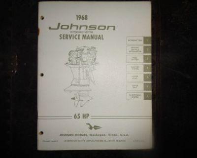 1968 Johnson Service Manual 65 Hp Motors @@@check This Out@@@