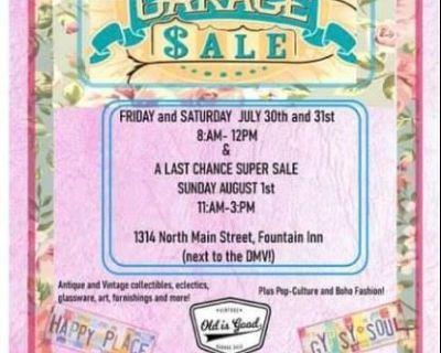 Huge Vintage Yard Sale