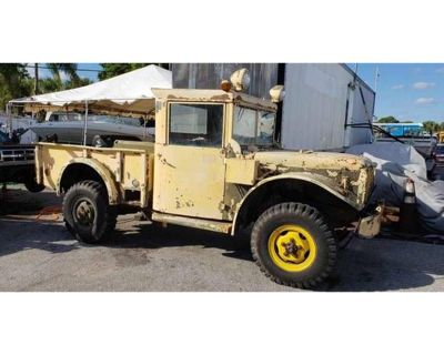 1950 Jeep Military