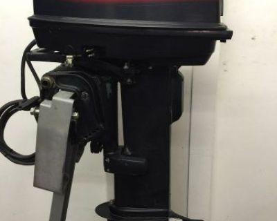 "1998 Evinrude 20-hp 2 Stroke Outboard Motor Boat Engine 20"" 25 15 30 40"