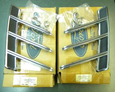 1966 Ford Mustang Quarter Panel Ornaments New Old Stock Ford Part