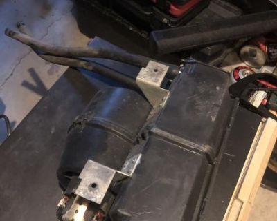 Westfalia rear heater assembly