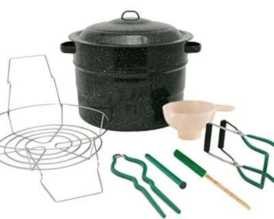 Large canner and/or accessories