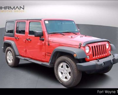 2015 Jeep Wrangler Unlimited Sport Hard and Soft Tops