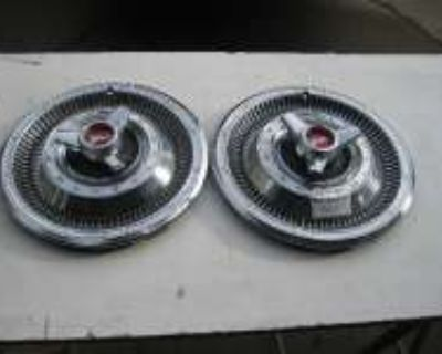 1966 PLYMOUTH full size SPINNER HUBCAPS For Sale