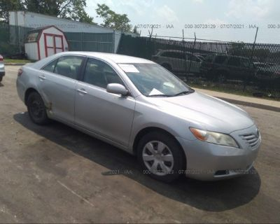 Salvage Silver 2007 Toyota Camry