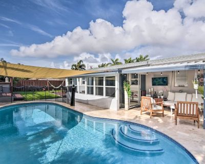 NEW! Tropical Home w/ Outdoor Oasis: 2 Mi to Beach - Fort Lauderdale