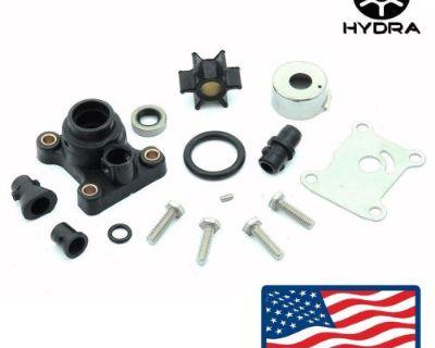 Water Pump Impeller Kit For Johnson Evinrude 9.9 15 Hp Rpl 18-3327 391698 394711