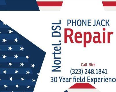 nec PHONE SYSTEMS: UVERSE:DSL:DATA PHONE JACKS CAT5 TECHNICIAN 1