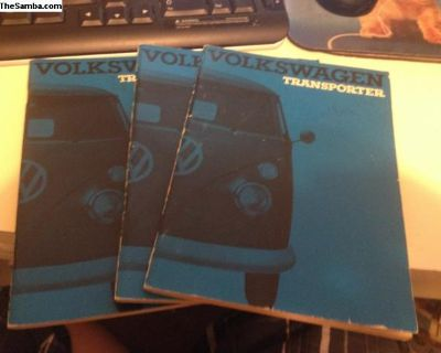 NOS Bus Owners Manuals