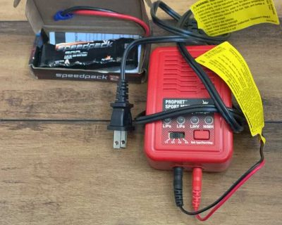 Remote control battery pack and charger