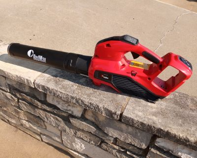 Red Max BHB250P battery powered leaf blower