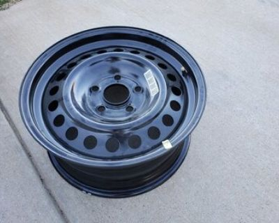 """Colorado - Steel spare 17"""" wheel off 2021 Sport S $40 Pick Up Only Will Not Ship"""