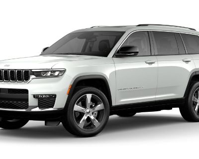 New 2021 JEEP Grand Cherokee L Limited With Navigation