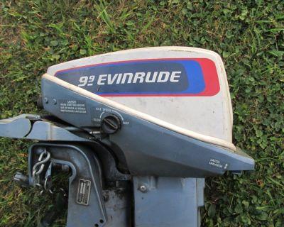 9.9 hp evinrude outboard
