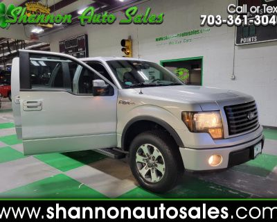 Used 2012 Ford F-150 FX4 SuperCrew 5.5-ft. Bed 4WD