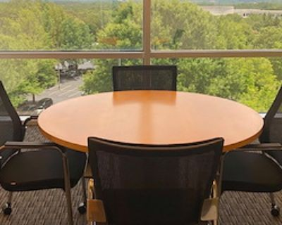 Private Meeting Room for 4 at Peachtree Offices at Alpharetta