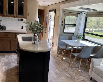 Updated Travel Trailer for Rent WITH Campsite!!! - Branch Township