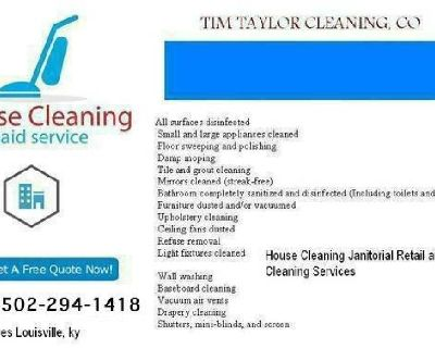 Hire a house cleaner louisville ky