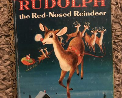 EUC Vintage Rudolph the Red Nosed Reindeer
