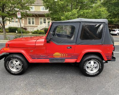 Pre-Owned 1989 Jeep Wrangler Islander Soft Top 4WD SUV