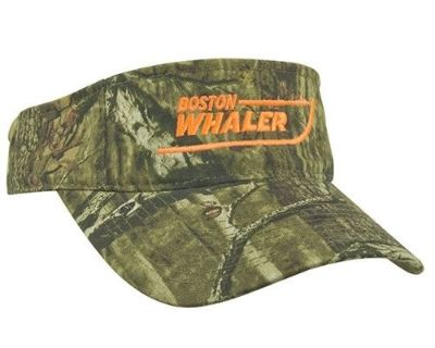 Boston Whaler Boats Twill Break Up Infinity Camo Visor Hat
