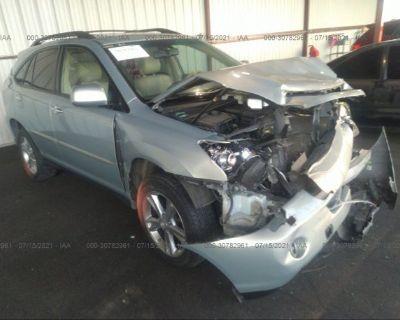 Salvage Gray 2008 Lexus Rx 400h