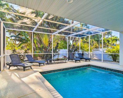 NEW! Vibrant Island Home w/ Pool, 1 Block to Beach - Anna Maria
