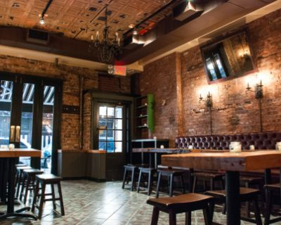 Rustic Tavern in the Heart of Greenwich Village, Cozy Craft Beer Bar, New York, NY