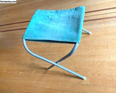 Vintage 1960s Camping Stool for your Westfalia