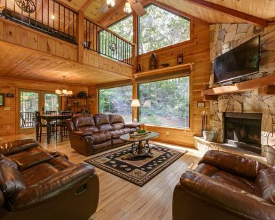 Mountain Time - Luxurious rustic lodge with hot tub & fire pit - Sautee Nacoochee