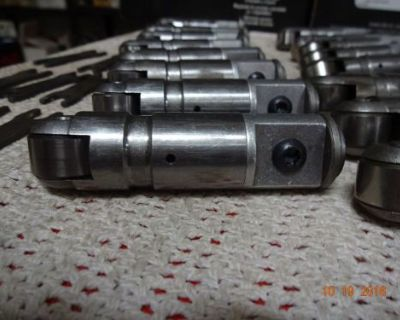 Solid Offset Roller Lifters With Vertical Link Bars Chevy Small Block