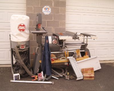 Shopsmith woodworking equipment