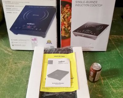 SINGLE BURNER INDUCTION COOKTOPS New in the box
