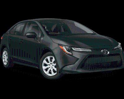 New 2022 Toyota Corolla LE FWD 4 In-Tranist