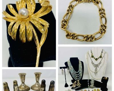 Silver, Gold and Bling- bidding ends 9/22/2021 7:00 PM
