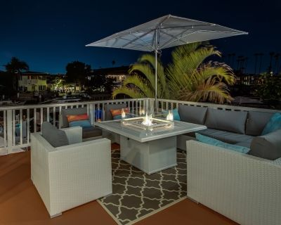 Aqua Sea Luxury Villa On The Harbor 2 Blks To Beach! W/Central Air/Boat 4 Rent - West Newport
