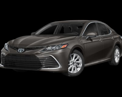 New 2022 Toyota Camry LE FWD InTransit