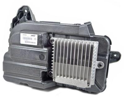 2011-13 Chevy Volt Subwoofer Speaker W/bose Amplifier Amp 20760438 20760437